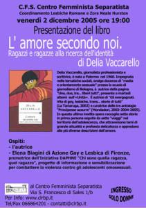 L'amore secondo noi di Delia Vaccarello