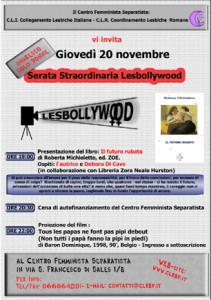 Lesbollywood Novembre 2003