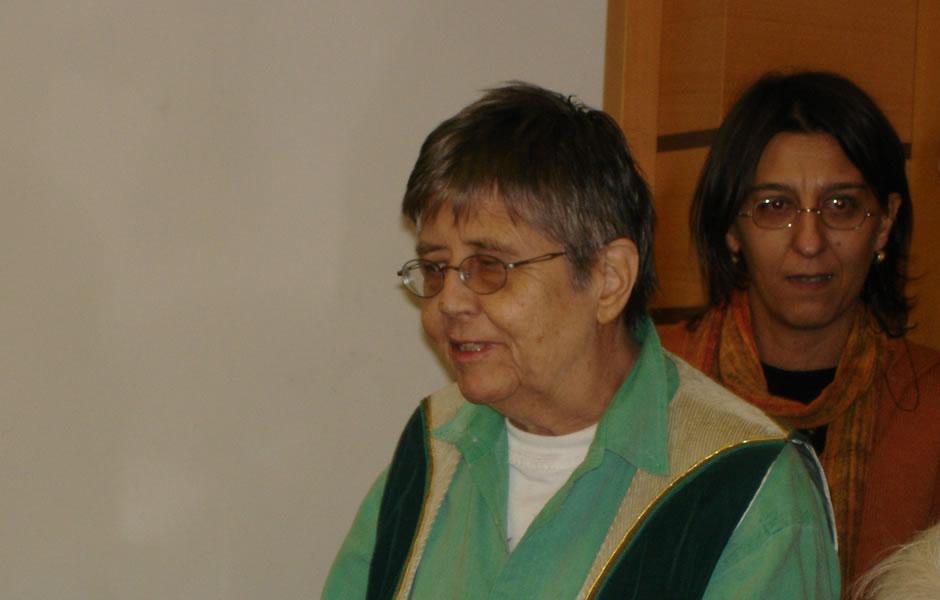 Mary Daly alla Casa Internazionale delle Donne