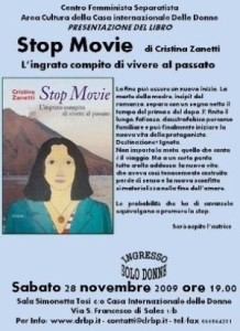 stop movie di cristina zanetti
